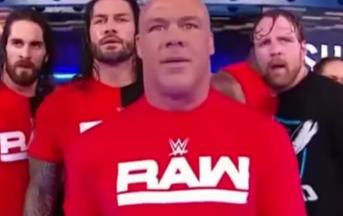 WWE Smackdown Live, Raw invade lo show blu: Kurt Angle distrugge Shane McMahon