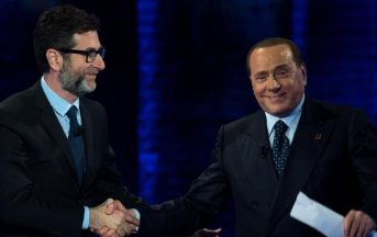"""Berlusconi da Fazio: """"Io sono il presente, ecco il mio candidato Premier per il centrodestra"""""""