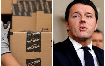 Black Friday Amazon, sciopero dipendenti: uscita a vuoto di Matteo Renzi