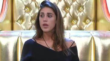 Cecilia Rodriguez in lacrime