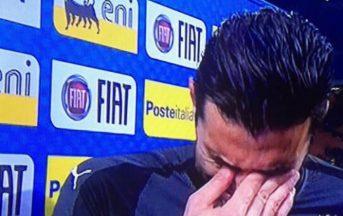 """Italia, Buffon addio in lacrime: """"Difficile chiudere così"""" (FOTO)"""