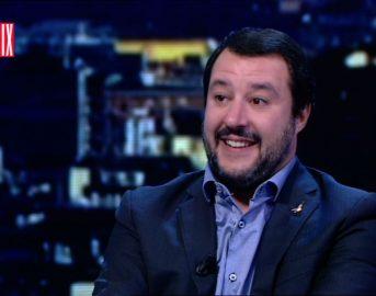 """Matteo Salvini a Matrix: """"Quando sarò al Governo proporrò di cambiare i trattati principali"""""""
