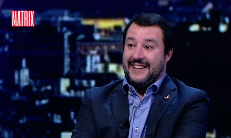Matrix Matteo Salvini