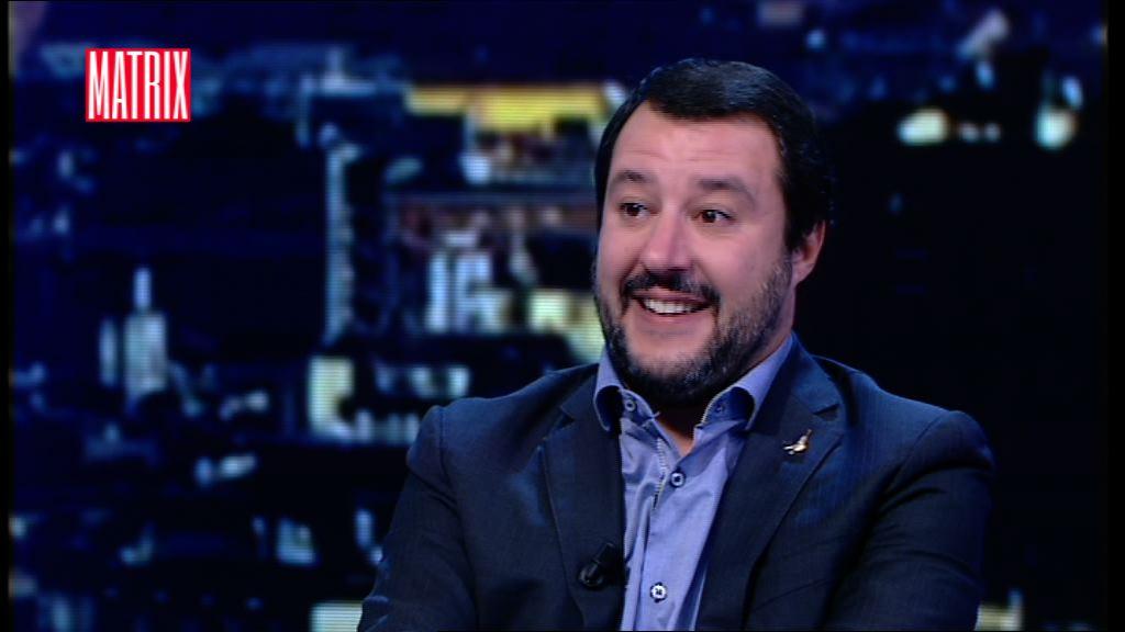 Salvini in piazza: