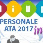 Personale Ata 2017 terza fascia bando