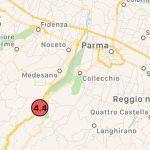 Terremoto Parma oggi