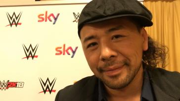 Nakamura wrestling wwe intervista