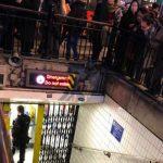 londra metro allarme oggi 24 novembre