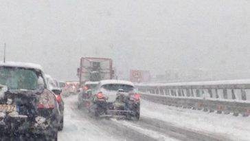 maltempo neve code autostrade oggi