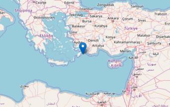 Terremoto oggi in Grecia: scossa magnitudo 5.1 a est isola Rodi