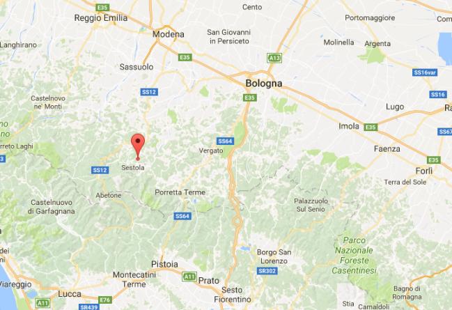 Terremoto oggi nel Modenese: scossa magnitudo 3.1 a Sestola