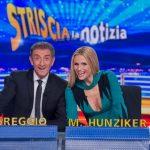 Michelle Hunziker a Striscia la Notizia