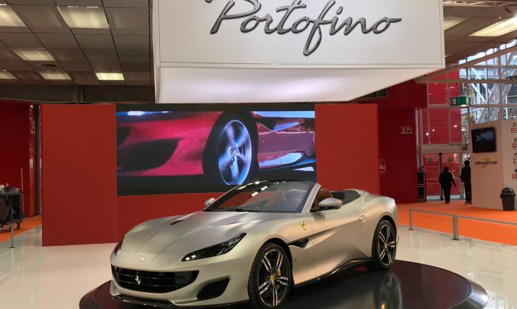 Motor Show Bologna Ferrari Portofino