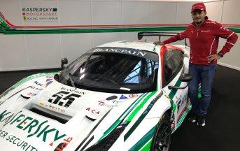 """Giancarlo Fisichella intervista esclusiva pilota Kaspersky Motorsport: """"Competizioni GT entusiasmanti, fiducioso per la prossima stagione"""""""