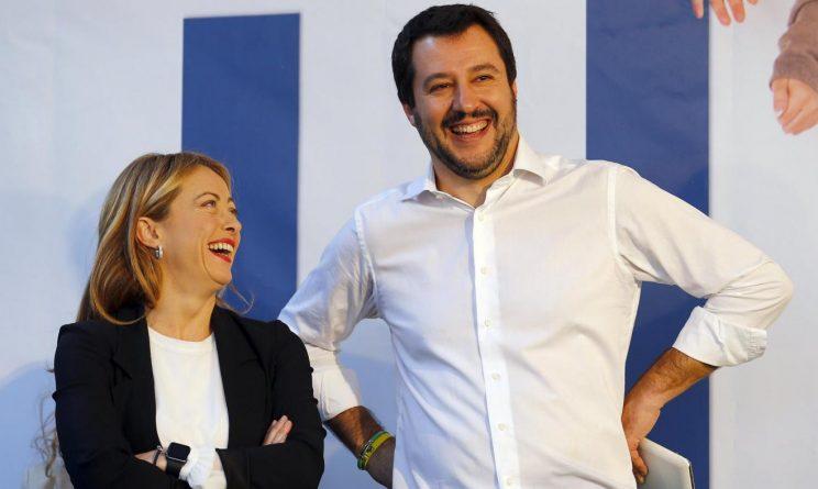 Elezioni Politiche 2018 Meloni Salvini