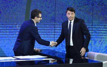 """Renzi a Che Tempo Che Fa: """"Saluto Grasso, ma comanderà D'Alema e a lui non voglio bene"""" (FOTO)"""