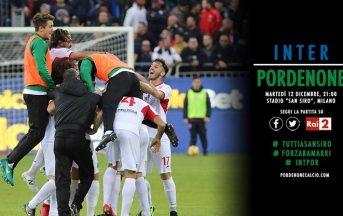 Il Pordenone sfida l'Inter sui social: Berrettoni meglio di Icardi