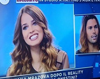 """Ivana Mrazova oggi a Mattino 5: """"Non sono più fidanzata"""", Luca Onestini è il suo nuovo amore?"""