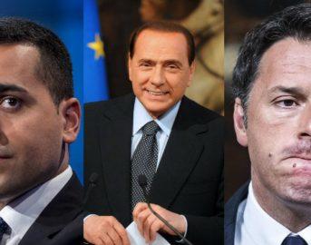 Sondaggi elezioni politiche 2018, Tecnè: M5S primo partito ma cala, giù anche il Pd, crescono Forza Italia e Liberi e Uguali