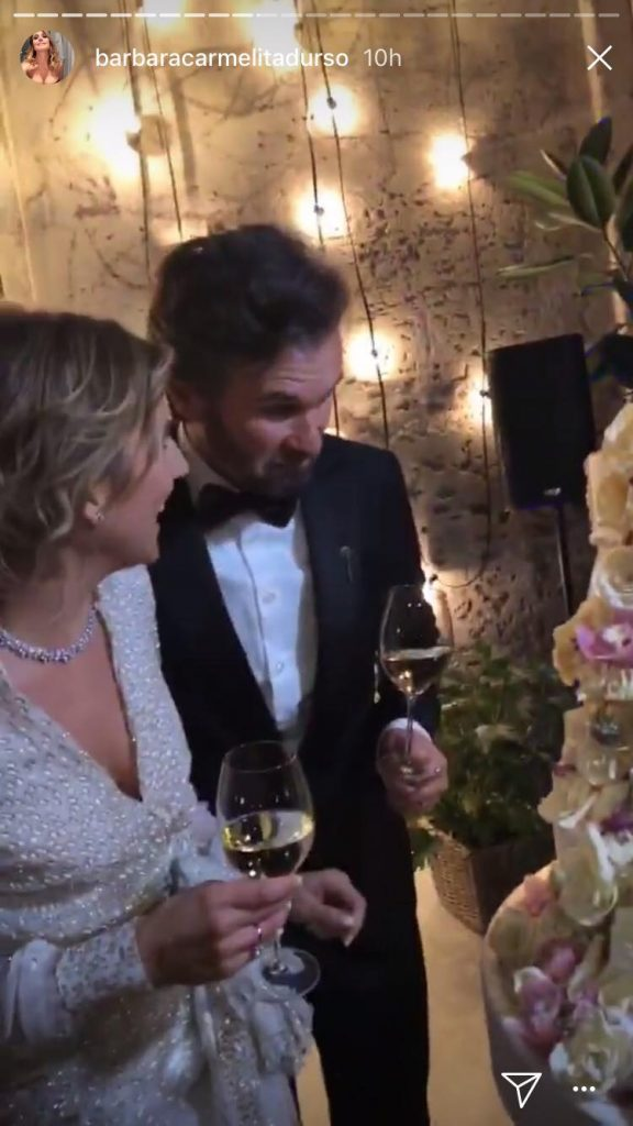 Carlo Cracco sposo