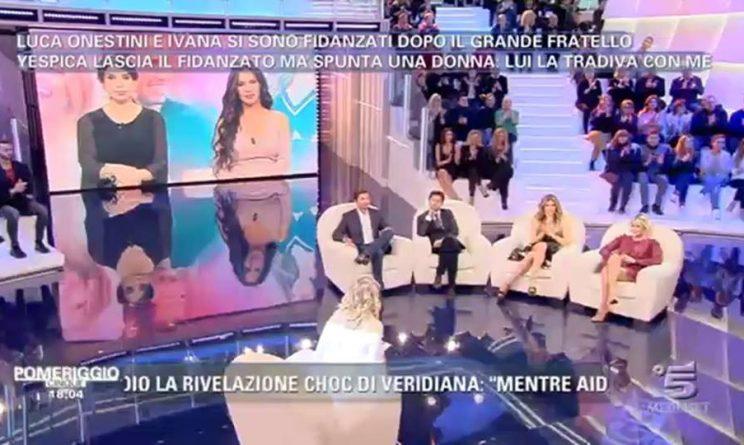 Pomeriggio 5 Antonella Mosetti