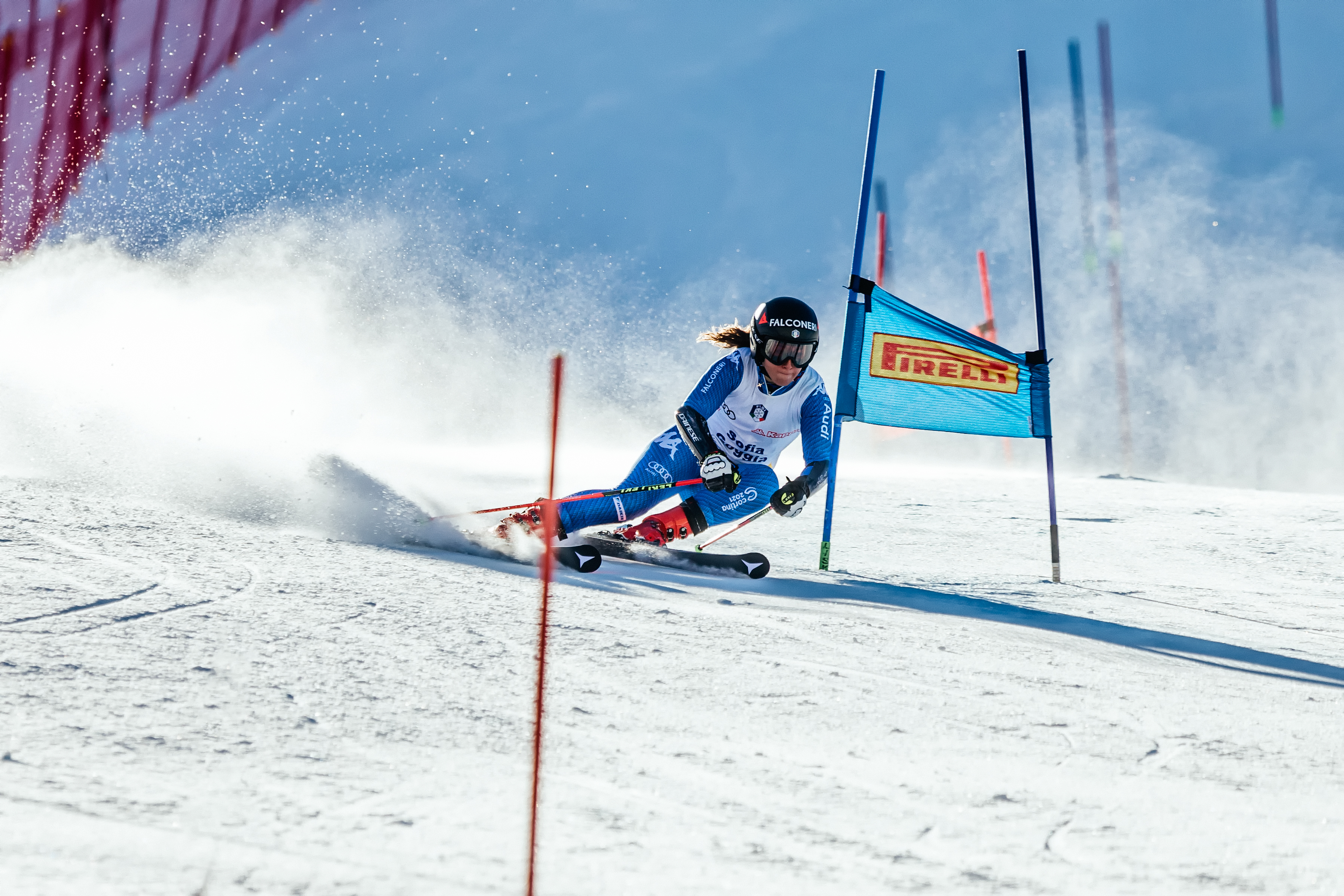 Sofia Goggia sci Olimpiadi Invernali di PyeongChang 2018