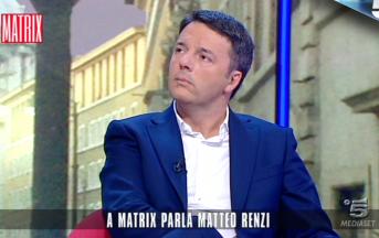 """Elezioni 2018 news, Renzi presenta la squadra Pd a Matrix: """"Schiero i migliori"""""""