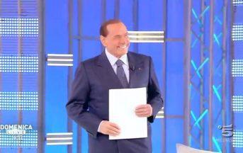 """Silvio Berlusconi a Domenica Live: """"Non andare a votare è come suicidarsi"""" (VIDEO)"""