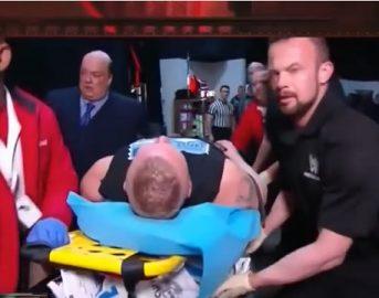 WWE Raw, Braun Strowman distrugge Brock Lesnar e Kane: The Beast esce in barella