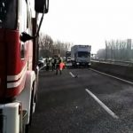 camion con cisterna A21 Brescia