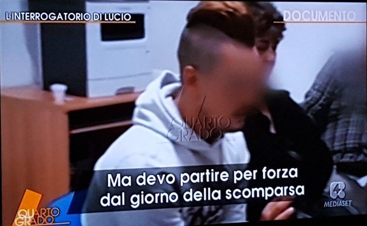 Noemi Durini, l'interrogatorio di Lucio: