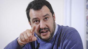 Matteo Salvini gelato