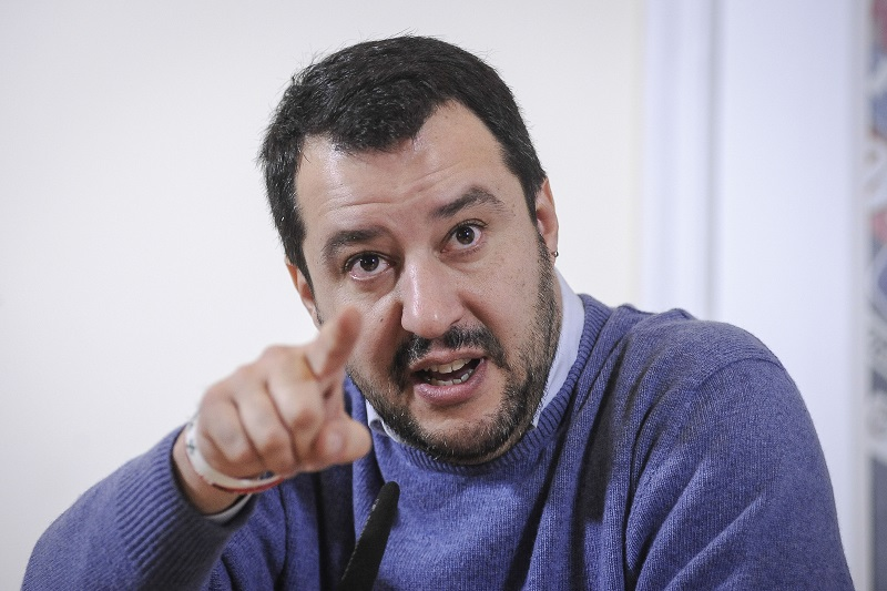 Matteo Salvini Circo Massimo