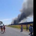 incidente ferroviario sudafrica