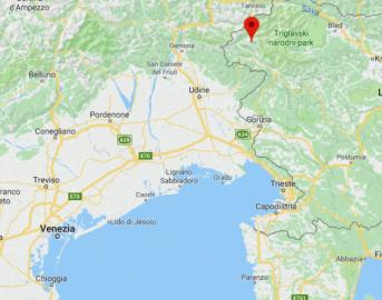 Terremoto oggi a confine tra Italia e Slovenia: scossa magnitudo 3.9 a Bovec