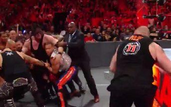 WWE, Brock Lesnar torna a Raw e lancia la sfida ai suoi prossimi avversari