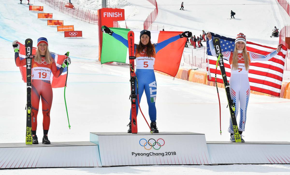 Sofia Goggia oro PyeongChang 2018