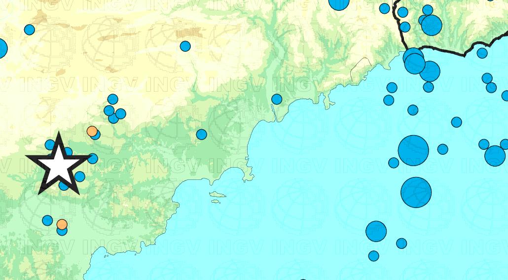 Campania, scossa di terremoto a Ogliastro Cilento di magnitudo 3.1