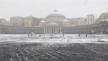 neve a napoli 27 febbraio 2018