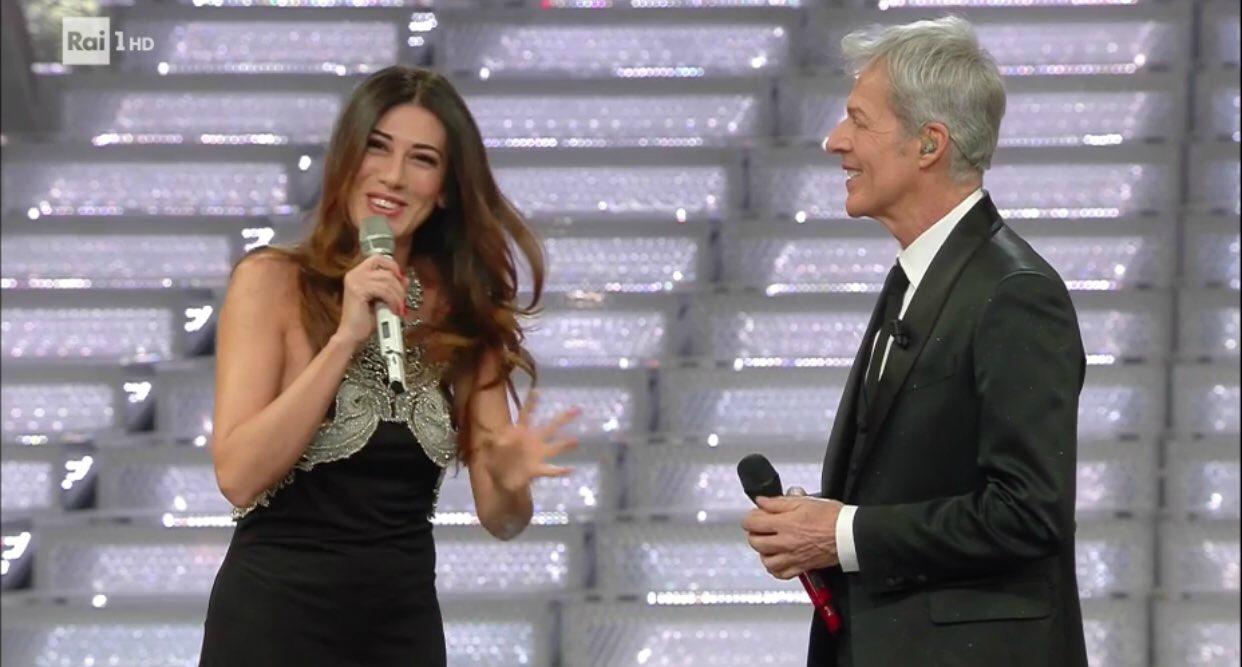 Italia, Bisio e Virginia Raffaele sul palco con Baglioni