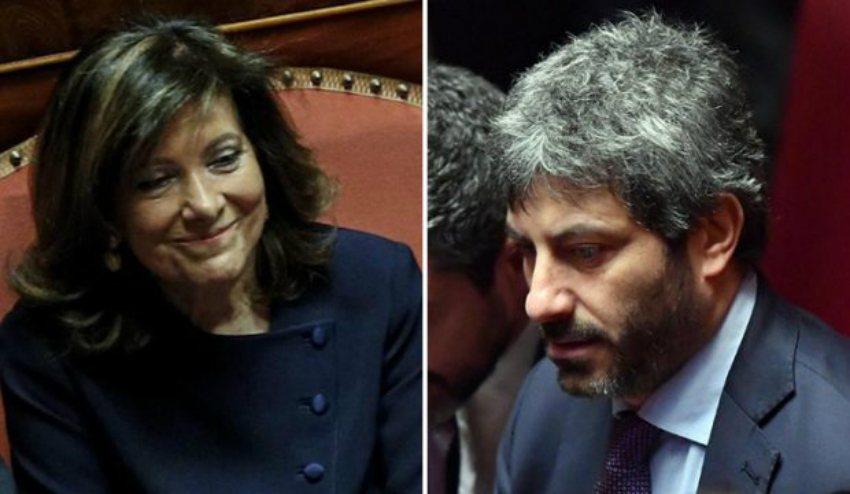 Presidente della camera e presidente del senato 2018 i for Senato e camera