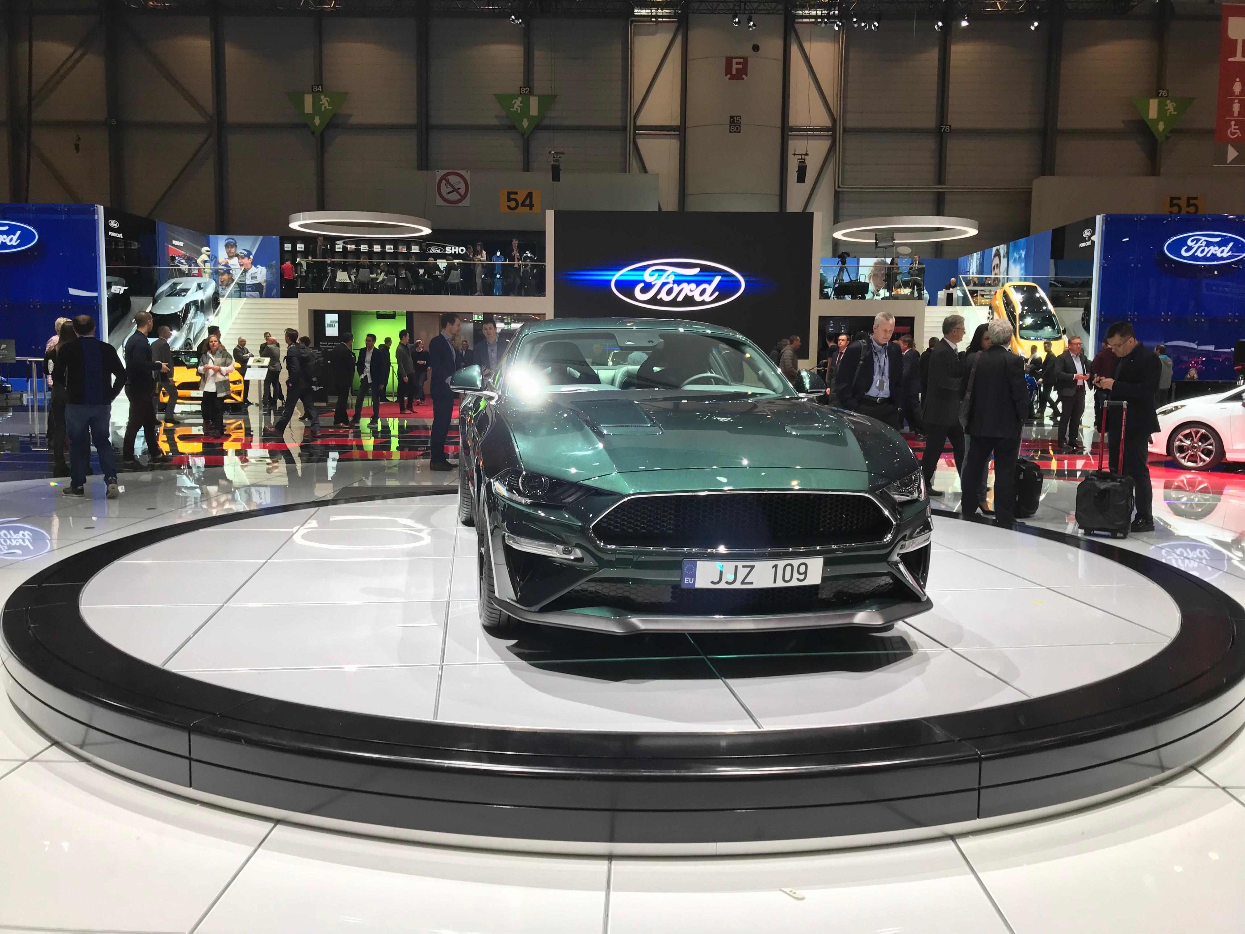 Salone Ginevra Mustang
