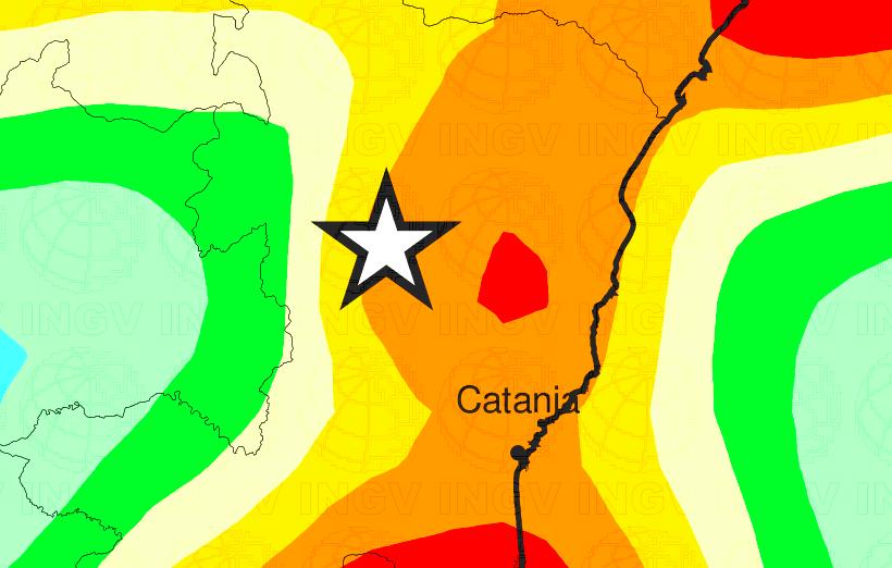 pericolosità sismica zona catania