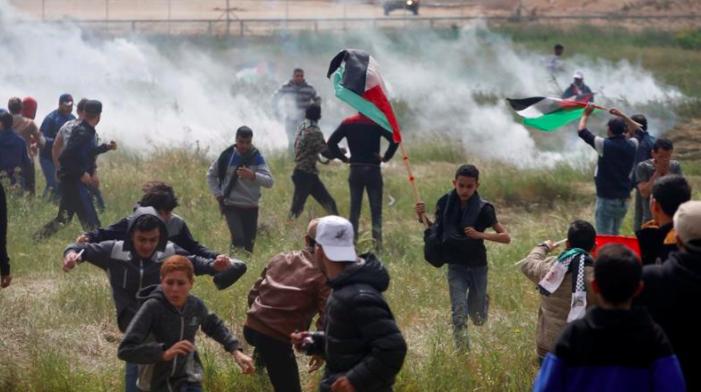 scontri palestina venerdì santo 2018