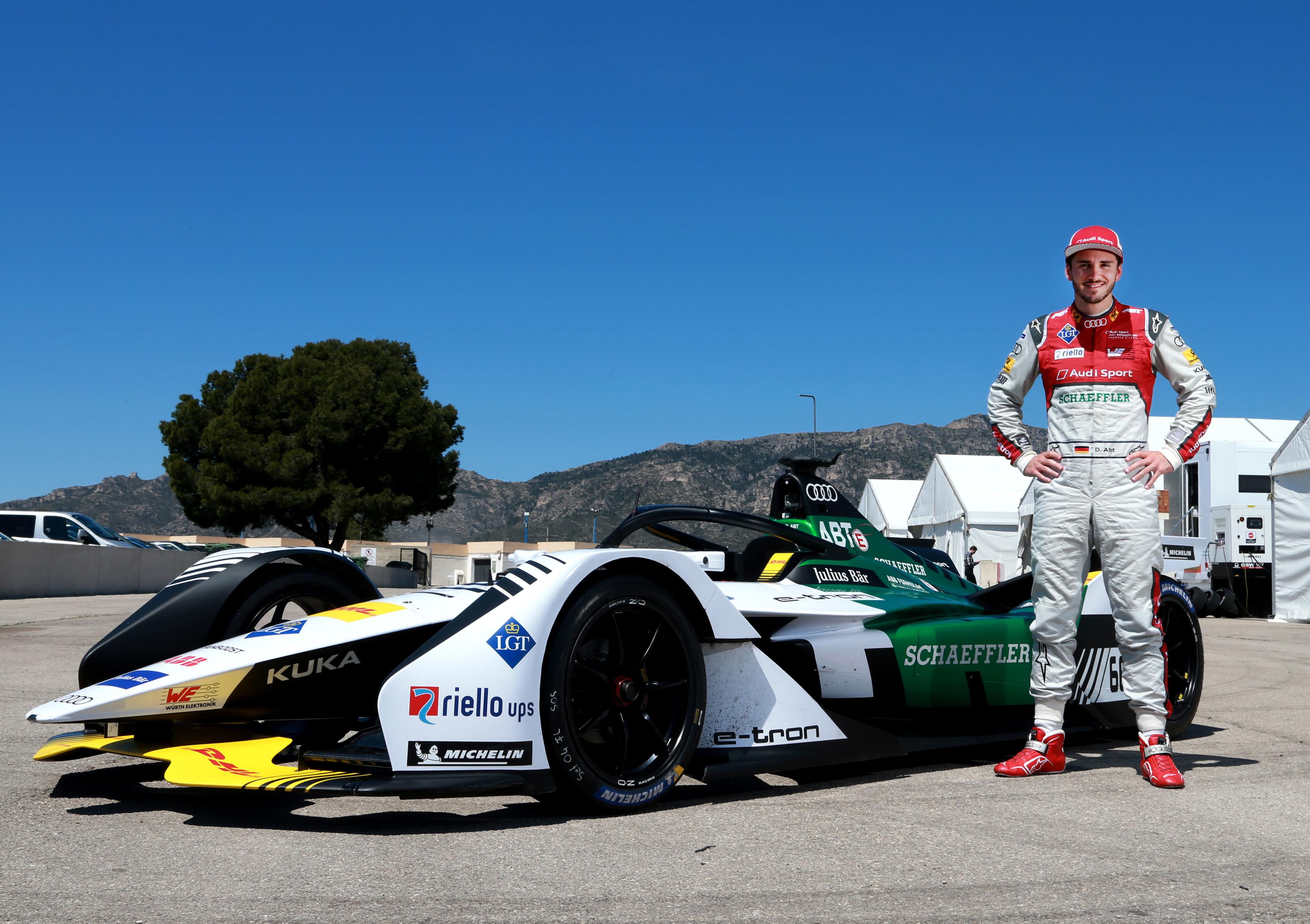 Formula E, Test Calafat Audi