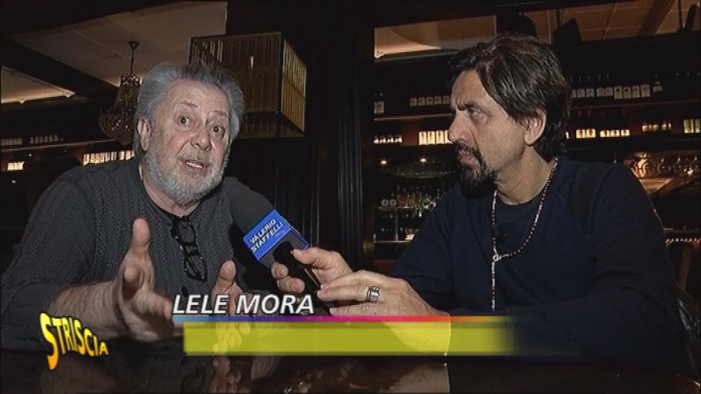 Lele Mora a Striscia la Notizia fa rivelazioni scottanti sull'Isola