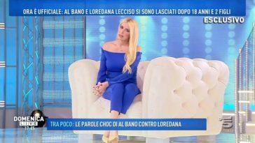Domenica Live Loredana Lecciso