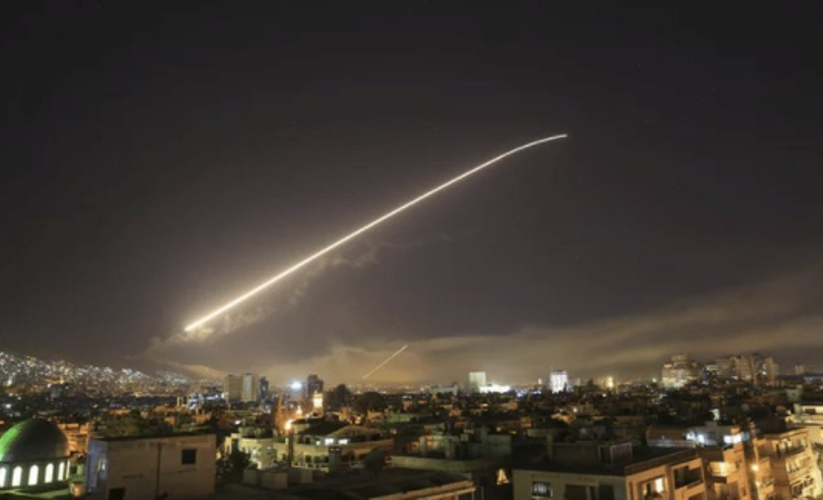 siria bombardamenti oggi