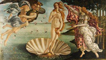 nascita di venere botticelli