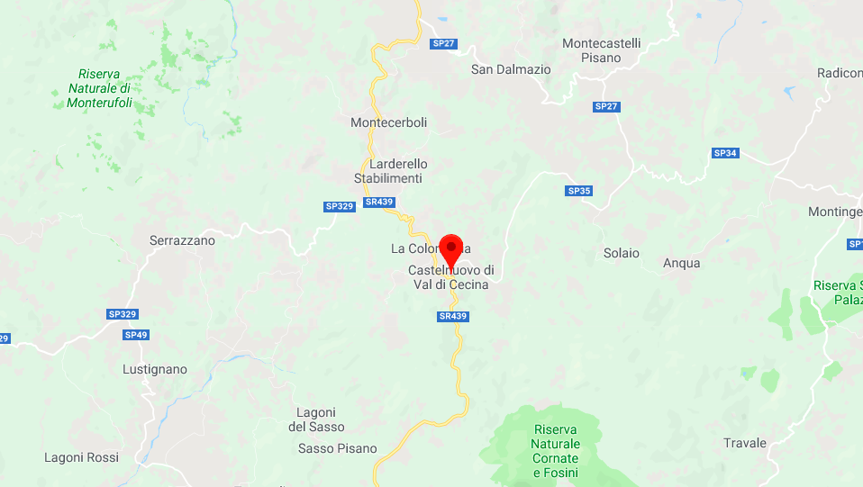 Terremoto Pisa, scossa di magnitudo 3.6 a Castelnuovo Val di Cecina